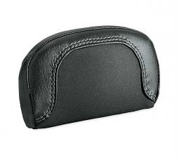 Harley-Davidson® Passenger Backrest Pad | Compact | Grey Stitch '19 Breakout® Styling