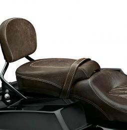 Harley-Davidson® Low Profile Passenger Pillion - Mahogany Brown