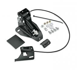 Harley-Davidson® Rider Backrest Mounting Kit - Adjustable - '09-later Touring
