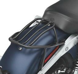Harley-Davidson® Rigid Solo Rack - Dyna® - Black