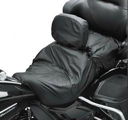 Harley-Davidson® Rain Cover | Touring Seat with Rider Backrest