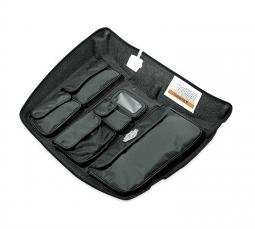Harley-Davidson® Tour-Pak® Lid Fitted Lining with Organizer | Grey