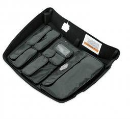 Harley-Davidson® Tour-Pak® Lid Lining with Organizer | Fitted | Premium Black