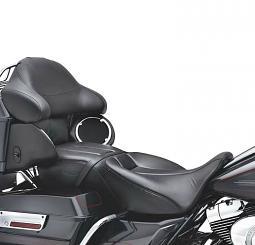 Harley-Davidson® Hammock Rider and Passenger Seat - Touring
