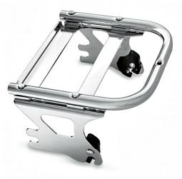 Harley-Davidson® Detachables™ Two-Up Tour-Pak® Mounting Rack - '97 - '08 - Touring - Chrome