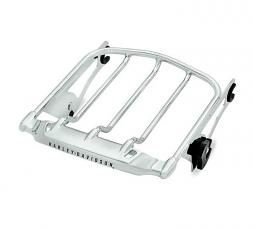 Harley-Davidson® Air Wing Detachables™ Two-Up Luggage Rack - Chrome