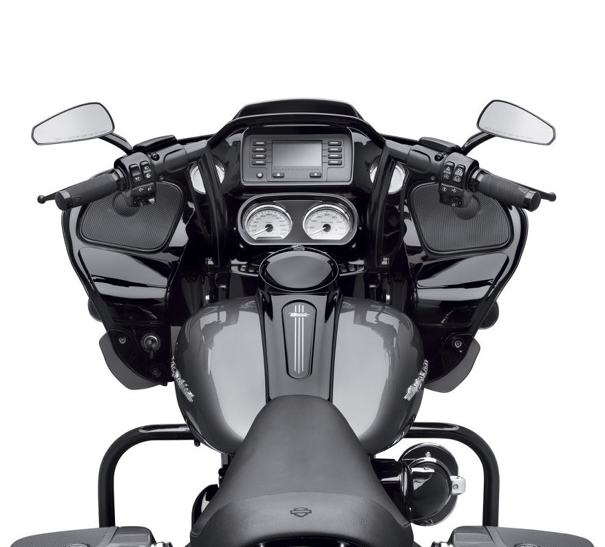 Harley-Davidson® Chizeled Lo Handlebar | Gloss Black