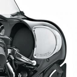 Harley-Davidson® Mirrors | Fairing Mount in Chrome '14-later