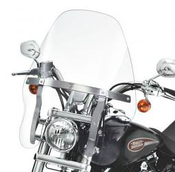 Harley-Davidson® Quick-Release Detachable Touring Windshield | Clear | 19 Inch