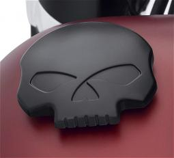 Harley-Davidson® Willie G® Skull Black Collection | Left Side Decorative Tank Cap Trim