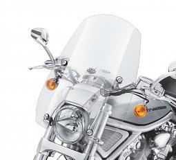 "Harley-Davidson® 18"" Compact Mid-Sport Windshield | Light Smoke"