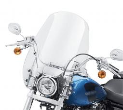 Harley-Davidson® Milwaukee-Eight® Wind Splitter Quick-Release Super Sport Windshield | 19"