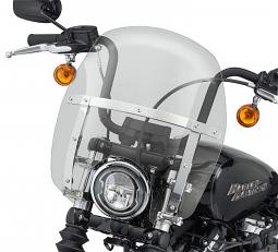 Harley-Davidson® Milwaukee-Eight® Wind Splitter Quick-Release Compact Windshield | 14"