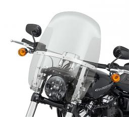 Harley-Davidson® Milwaukee-Eight® Breakout® | Wind Splitter Quick-Release Compact Windshield | 18"