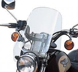 "Harley-Davidson® 17"" Sport Windshield Kit | Light Smoke"