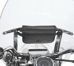 Harley-Davidson® Detachable Leather Handbag for Windshields