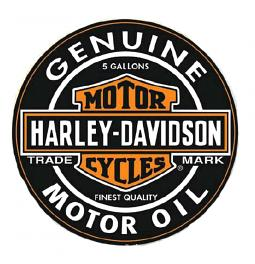 Harley-Davidson® H-D® Oil Can Label Puzzle | 1000 Pieces