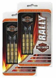 Harley-Davidson® Rally Brass Darts | Bar & Shield® Logo | Set of Three