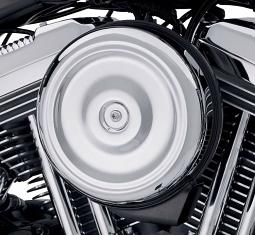 Harley-Davidson® Air Cleaner Cover | Bobber-Style | Chrome