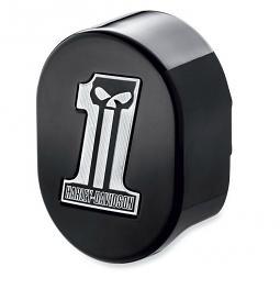 Harley-Davidson® Horn Cover | Dark Custom Logo