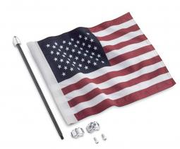 Harley-Davidson®  Premium American Flag Kit | Tour-Pak® Luggage Rack