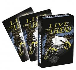 Harley-Davidson® Legend Playing Cards
