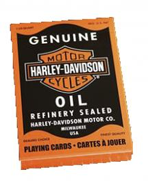 Harley-Davidson® Oil Refinery Playing Cards