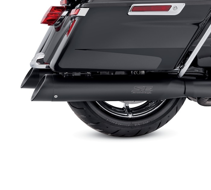 Harley-Davidson® Screamin' Eagle® Street Cannon Performance Slip-On Mufflers