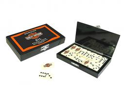 Harley-Davidson® Oil Can Domino Set