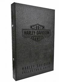 Harley-Davidson® Collectors' Poker Chip Album | Holds 96 Chips