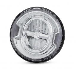 Harley-Davidson® Daymaker™ Signature Reflector LED Headlamp | Chrome 7""
