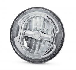Harley-Davidson® Daymaker™ Signature Reflector LED Headlamp | Chrome 5.75""