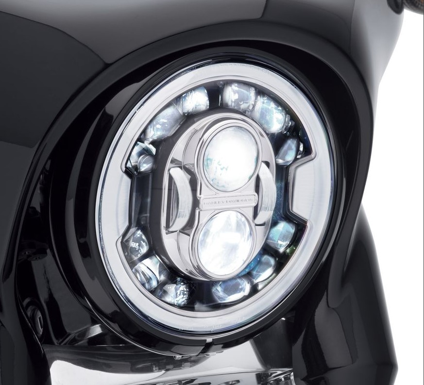 Harley-Davidson® 7 inch Daymaker™ Adaptive LED Head-lamp |Chrome