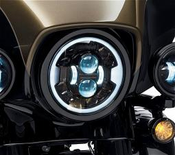 Harley-Davidson® 7 inch Daymaker™ Adaptive LED Head-lamp | Black