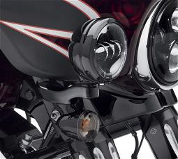 Harley-Davidson® Custom Auxiliary Lighting Kit | '14-Later Street Glide® & Street Glide Special | Gloss Black