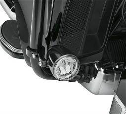 Harley-Davidson® Daymaker™ Reflector LED Fog Lamps | Gloss Black Housing