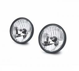 Harley-Davidson® Auxiliary Lamp Bulb Kit | Clear Lens & Vertical Reflector Optics