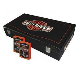 Harley-Davidson® Long Bar & Shield® Trademark Logo Professional Poker Chip Set