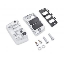 Harley-Davidson® Auxiliary Accessory Switch Housing Kit | Chrome | Left Side