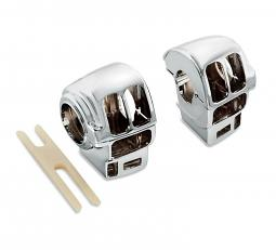 Harley-Davidson® Chrome Switch Housings