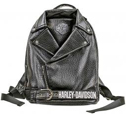 Harley-Davidson® Girls' Polyurethane Biker Backpack | Bar & Shield® Patch