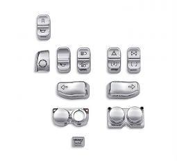 Harley-Davidson® Switch Cap Kit | Chrome