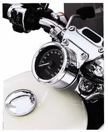 Harley-Davidson® Chrome Instrument Gauge Bezel