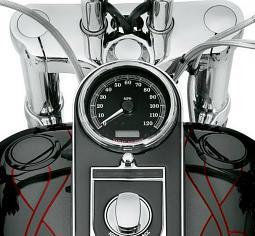 Harley-Davidson® Fuel Cap and Gauge Kit | Flush-Mount | Gloss Black