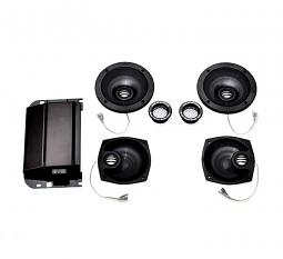 Harley-Davidson® Boom!™ Audio Ultra Boom!™ Bagger Amp & 4 Speaker Kit