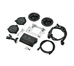 Harley-Davidson® Boom! Audio Stage I Bagger Amp and Speaker Kit | 2 Speaker | '14-later Street Glide