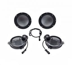 "Harley-Davidson® Boom! Audio Stage II 6.5"" Speaker Kit - Batwing Fairing"