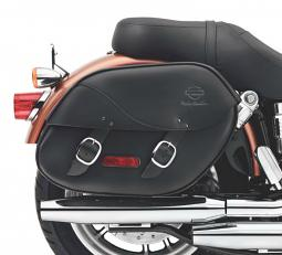 Harley-Davidson® Leather Saddlebags | Detachables™ | Dyna®