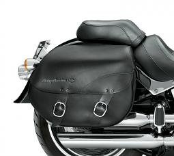 Harley-Davidson® Leather Saddlebags | Detachables™ | Smooth