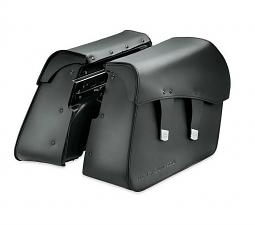 Harley-Davidson® Leather Saddlebags | Detachables™ | Breakout® | Smooth